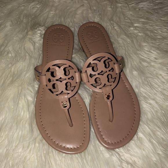 c318782ed86a8c New Tory Burch Miller sandals. Light Make Up.
